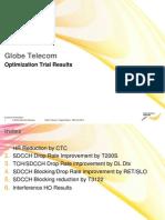 2G Optimization Trial Report