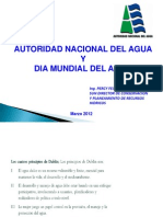 Dia Mundial de Agua y Aaa