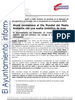 MEDIO AMBIENTE Inventario municipal cigüeñas
