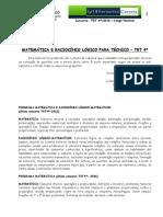 Tecnico TRT Matematica Caren Fulginiti 07-10-10 Parte1 Finalizado Ead