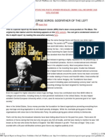 MRC Special Report on George Soros Godfather of the Left