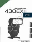 Canon 430EXII Speedlite