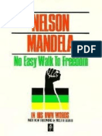 62739592 No Easy Walk to Freedom Nelson Mandela