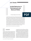 BAGLEY & TREMBLAY. 1997. Suicidal Behaviors in Homosexual and Bisexual Males