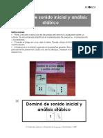 Dominó de sonido inicial y análisis silábico (1)
