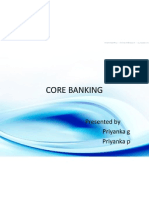 Core Banking Ppt