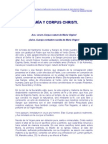 MARÍA Y CORPUS CHRISTI.