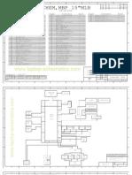 Apple Macbook PRO A1286 (Late 2008-Early 2009), Laptop Logic Board Schematic Diagram