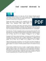 Studiu Privind Comertul Electronic in Romania