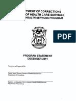 Doc Bureau of Healthcare Services Mental Health Services Program