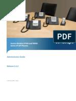Aastra Almanachas IP Phone Admin Guide 3.2.2!41!001343-01 REV01 IPP AG 08 2011