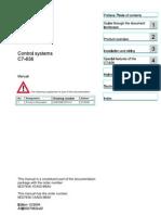 Spray Dryer Siemens C7-636 Key Manual