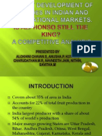 Market Development of Mangoes in Indian and International