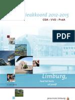 Coalitieakkoord 2012 2015 Brochure