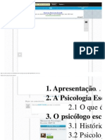 Manual de Psicologia Escolar CRP 08