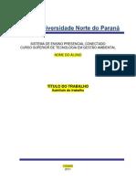 Modelo de Portfolio Individual