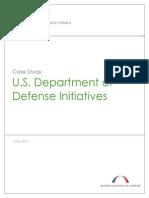 U.S. Department of Defense Initiatives