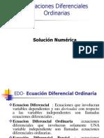 9 Ecuaciones Diferenciales Ordinarias