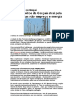 Parque Eólico de Gargaú