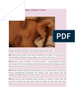 Amalan Ketika Anak Sedang Tidur