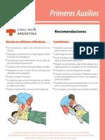 Recomendaciones en PPAA
