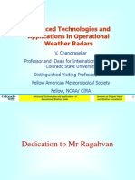 Advanced Technologies and Applications in Operational Weather Radars