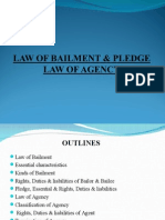 Law of Bailment & Pledge