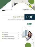 Sage ERP Sage X3 Services