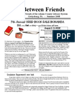 Summer Newsletter 2008