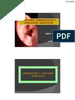 Anatomía, embriología y fisiología auricular - Amibio