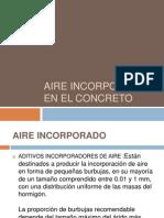 Aire Incorporado en El Concreto