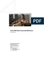 Cisco IOS Voice Command Reference 15.1