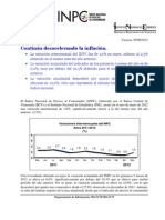 Reseña  INPC Mayo 2012 050612