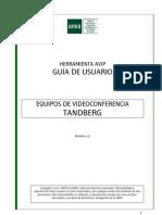 Guia Usuario Videoconferencia Tandberg