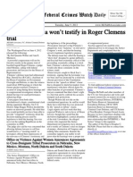 June 5, 2012 - The Federal Crimes Watch Daily