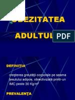 OBEZITATEA ADULTULUI