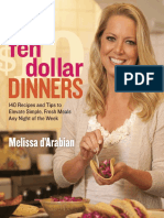 Recipes From Ten Dollar Dinners by Melissa d'Arabian