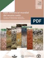 Base Referencial Mundial Del Recurso Suelo FAO