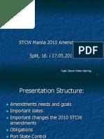 STCW Manila 2010 Amendments DVidan