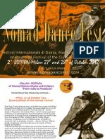 Brochure Nomad Dance Fest Eng 2012