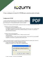 Como Configurar QoS en El K-1550NR