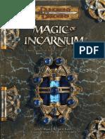 Magic of Incarnum Supplement by Azamor