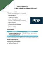 SESIÓN DE APRENDIZAJE apl19