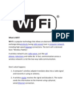 WiFi and WiMAX