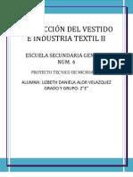 CONFECCIÓN DEL VESTIDO E INDUSTRIA TEXTIL II