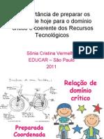 APRESENTAÇÃO EDUCAR 2011