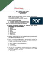 Plan de Nivelacion Quimica Sextos Segundo Periodo