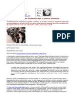12-06-03 POLICE STATE USA - the Paranoid Style of American Governance