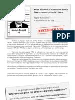 Michel Destot - candidat nucléocrate? Fiche du réseau Sortir du Nucléaire