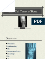 Giant Cell Tumor of Bone
